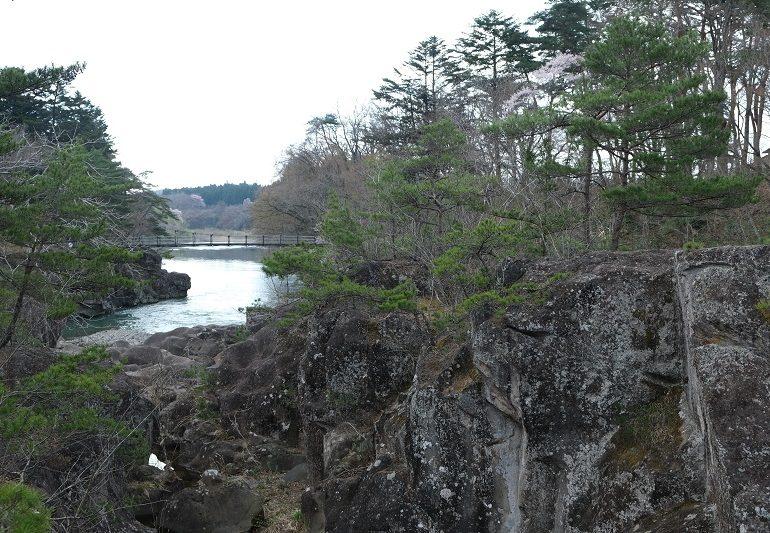 厳美渓の写真