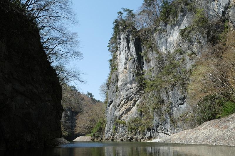猊鼻渓の写真