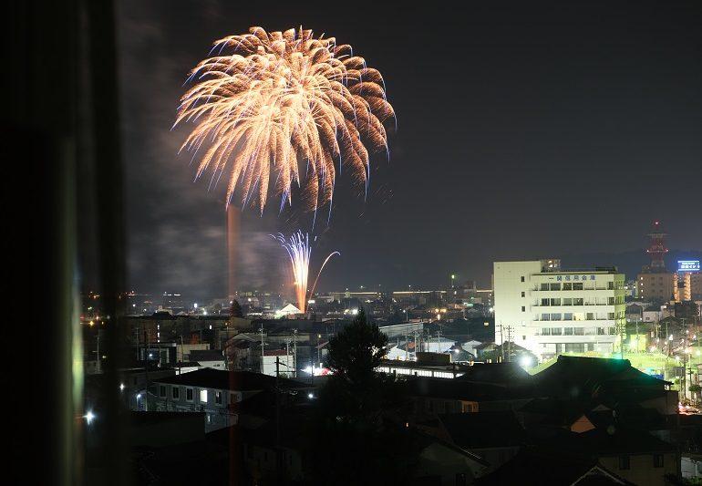 一関の花火の写真